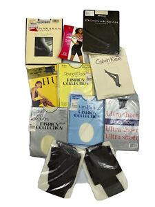 Lot of 10 Mixed Vintage Pantyhose Stocking L3