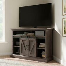 Whalen Allston Barn Door Corner TV Stand