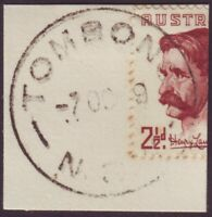"""NSW POSTMARK """"TOMBONG"""" DATED 7/10/1949 (A11091)"""