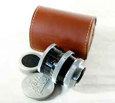 Paillard Bolex Pizar 26mm f/1.9 C-mount Lens Caps & Case For H16 Movie Camera