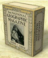 NATIONAL GEOGRAPHIC Vintage Magazines 1888-1922 Complete on DVD-Rom Geography