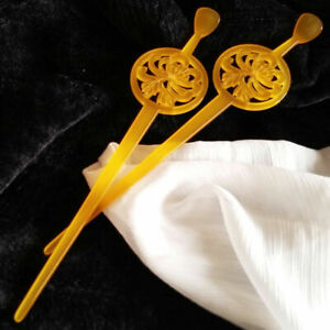 Sakuran Anna Tsuchiya Kanzashi Hairpin Hair Stick for Kimono Geisha Cosplay 4pcs