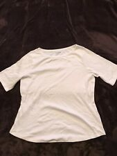 Plain White Tshirt Size 22 Marks And Spencer