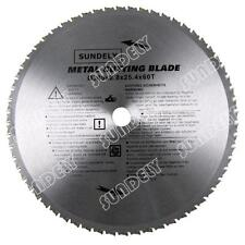 NEW! 2 x 305mm Professional Silver PMC Metal TCT Cutting Circular Saw Blades