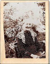 CAB photo Ältere Dame - Österreich um 1900