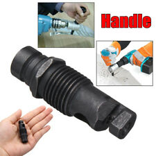 Replace Handle Metal Cutting Double Head Sheet Drill Nibbler Saw Attachment Tool