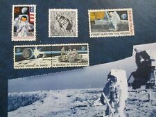 First Man on the Moon Stamps