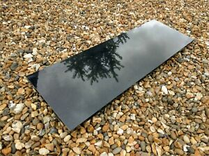 Black Polished Marble Fireplace Hearth