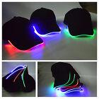 Casquette Baseball LED Lumineuse Eclairage Bonnet Chapeaux Hip-hop Déguisement