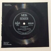 Mark Ronson Teen Magazine 1974 Record RCA Love Me Tender Slaughter on 10th Ave