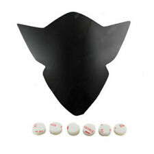 For 2005-2006 Suzuki GSX-R 1000 Motorcycle Black Headlight Lens Shield Protector