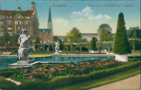 Ansichtskarte Mannheim Partie am Friedrichsplatz mit Kunsthalle um 1900 (Nr.927)