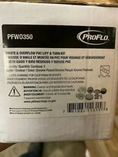 Proflo Pfw0350 Chrome Trim Plastic Tub Drain & Overflow Elbows (New)