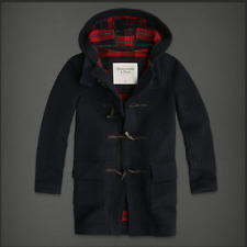 ABERCROMBIE & FITCH MENS OREBED BROOK ITALIAN WOOL JACKET OUTERWEAR NWT S