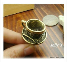 6pcs  Metal-Retro-Coffee-Tea-Cup-Finger-Ring-Adjustable-Fashion
