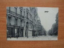 CPA : PARIS  : (XVI arrt) AVENUE MOZART prise de la chaussée de la muet