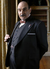 PHOTO HERCULE POIROT – DAVID SUCHET  - 11X15 CM  # 1