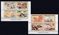Setas Funghi - Guinea 3450-57A (MNH)