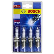 Bosch Spark Plug Set of 4 suits Toyota Corolla ZZE122R 4cy 1ZZ-FE 1.8L 2001-2007