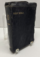 1949 Holy Bible Red Letter Edition Concordance Leather Collins Clear Type Press