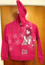 WIZARDS WAVERLY PLACE youth small hoodie Disney hooded sweatshirt Selena Gomez