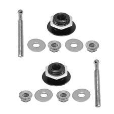 2push Button 125 Quick Release Hood Pins Bonnet Lock Clip Bumper Latch Kit Us
