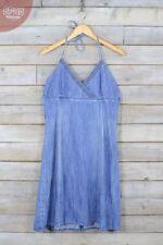 Vestiti da donna blu corto, mini taglia L