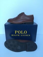 Ralph Lauren Brogues 100% Leather Shoes for Men