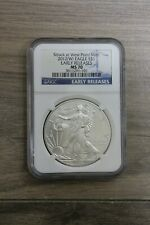 NGC 2012 W (West Point Mint) American Eagle Silver $1 Early Releases MS70 Coin