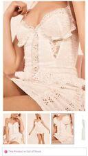 Vs love for lemons eyelet dress nEW size small white