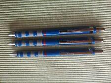Rotring 3 x Tikky  Kugelschreiber blau NEU