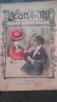 Revista Jean Que Rit N º 283 1906 Journal Demuestra que Aparecen El Viernes ABE