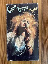 Cyndi Lauper in Paris (VHS, VIDEO 1987) LIVE IN CONCERT. RARE