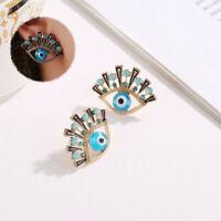 Earrings Earring Women Eye New Drop Trendy Stud Rhinestone Evil Statement Dangle