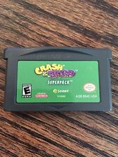 Crash & Spyro Super Pack Nintendo Gameboy Advance GBA Game Cart
