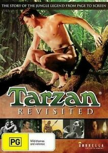 Tarzan Revisited DVD - Johnny Weissmuller - Ron Ely - New & Sealed