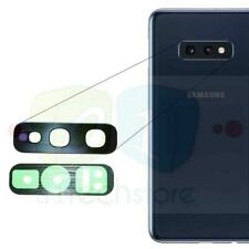 For Samsung Galaxy S10E GENUINE Rear Camera GLASS Lens Replacement part Black