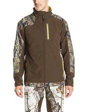 5997 Yukon Gear Mens Windproof Soft Fleece Jacket Mossy Oak Break-Up Country 3XL
