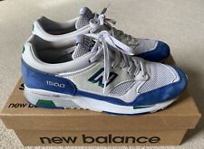 New Balance 1500. Made In Cumbria Pack. Limited Edition. White/Blue. Size 9.5 UK