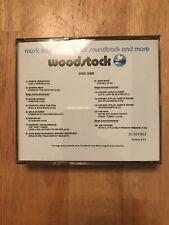 Woodstock Original Soundtrack 2CD Set US BMG Music Club Issue