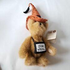 "Boyds Bears Wanda Witchyboo Heirloom Series 6"" Teddy Orange Hat Tag"