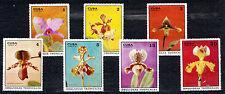 1Cuba 1971 Mi 1694-1700 Orchids  - MNH