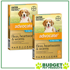 Advocate For Dogs Medium Blue 4-10kg 9 DOSES