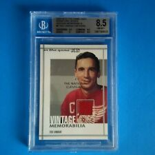 2003-04 ITG GAME USED VINTAGE # 5 TED LINDSAY NATIONAL BVG 8.5 NM-MT+