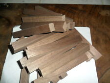 LOT OF 154 BLACK WALNUT WOOD PEN TURNING BLANKS, 3/4 X 3/4 X 5-1/4