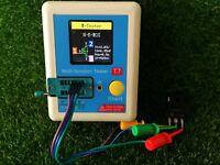 Transistor Tester TFT Diode Triode Capacitance Meter LCR ESR NPN PNP MOSFE IR