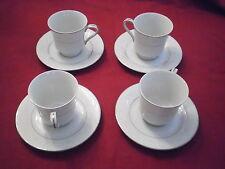 International fine china Japan Fascination 5723 Set of 4 Cups & Saucers.