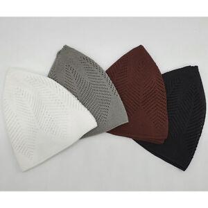 Mens/boys Islamic Turkish Knitted Prayer Hat