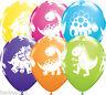 "10/20 Dinosaur Dino Cuddly Latex Balloons Print Assorted Birthday Party Kids 12"""