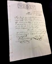 OLD SPANISH DOCUMENT 1842